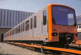 CP - Belgique - Brussels - Bruxelles - Métro - Rame De Métro - Unité De Traction - Transport Urbain Souterrain