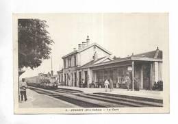 70 - JUSSEY  ( Hte-Saône ) - La Gare - France