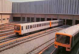 CP - Belgique - Brussels - Bruxelles - Métro - Dépôt De Auderghem - Transport Urbain Souterrain