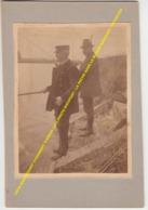 FOTO NIEUWPOORT VISVANGST VISSERS 1913 PHOTO NIEUPORT / LA PECHE DANS LE BASSIN NIEUPORT / PECHEURS - Nieuwpoort