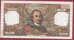 """100 Francs """"Corneille"""" Du 02/04/1964.C---TTB+---ALPH .H.3 - 1962-1997 ''Francs''"""