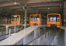 CP - Belgique - Brussels - Bruxelles - Métro - Fosse D'entretien Rame De Métro - Transport Urbain Souterrain