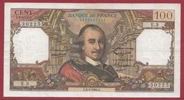 """100 Francs """"Corneille"""" Du 02/04/1964.C---TTB---ALPH .H.3 - 1962-1997 ''Francs''"""