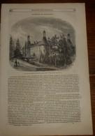 Magasin Pittoresque. Livraison N°47.Fac-similé D'une Carte D'Europe Gravée En 1628. Un Pigeonnier-Clapier. 1849 - Livres, BD, Revues