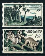 Madagascar (Francesa) A-75*-77** Cat.38€ - Airmail