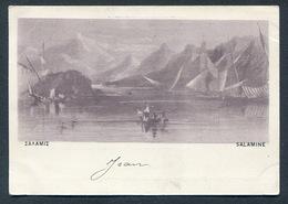 1897/1900 - Ed. Ν. ΒΛΑΧΟΥΤΣΗΣ - SALAMIS . GREECE - GRECE - Greece