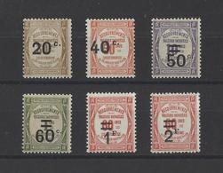 FRANCE .  YT  Timbres Taxe N° 49/54  Neuf **  1917-26 - 1859-1955.. Ungebraucht