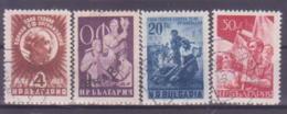73-762 / BG - 1949  1 YEAR O.F.    Mi 712/15 O - 1945-59 République Populaire