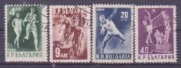 73-773 / BG - 1950   SPORTS  Mi 749/52 O - 1945-59 République Populaire