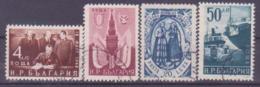 73-792 / BG - 1950  FRIENDLY CONTRACT BULGARIA - USSR  Mi 755/58 O - 1945-59 République Populaire