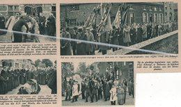 BETEKOM..1935.. PROF.DR. SCHARPÉ LERAAR AAN DE UNIVERSITEIT LEUVEN TEN GRAVE GEDRAGEN / E.P. VAN MIERLO TAALDESKUNDIGE - Vieux Papiers