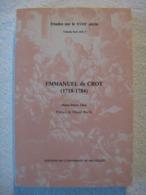 Emmanuel De Croy – Marie-Pierre Dion - EO 1987 – Peu Courant - Culture