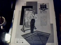 Publicité De Presse 30 X 40 Cm Année 1928 Cigarette & Cigares Noël Vs Parfum Isabey Vs Bretelles L'aiglon - Publicités