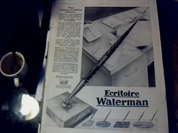 Publicité De Presse 30 X 40 Cm Année 1928 écritoire Waterman Vs Différentes Pubs Cf Photos - Publicités
