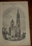 Magasin Pittoresque. Livraison N°48.Cathédrale De Senlis. Intérieur D'ateliers Du XIXe Siècle.La Picquotiane. 1849 - Livres, BD, Revues
