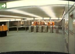 CP - Belgique - Brussels - Bruxelles - Métro - L1 - De Brouckère - Transport Urbain Souterrain