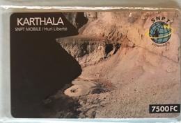 COMORES  - Prepaid  -  SNPT  - KARTHALA - 7.500 Fc - Comoren