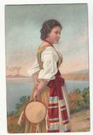 CPA - Italie - Campania - Costume - Carte Précurseur:  Achat Immédiat - ( Cd030 ) - Costumes