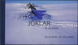 ICELAND 2007 Glaciers Mountains Complete Prestige Booklet Carnet MNH - Geology