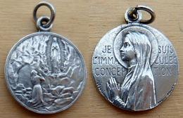 NM-309  Médaille Signée Pénin Poncet Je Suis L'Immaculée Conception - Religione & Esoterismo