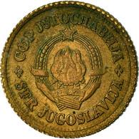 Monnaie, Yougoslavie, 5 Para, 1965, TB+, Laiton, KM:43 - Joegoslavië