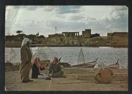 United Arab Emirates Fishermen Picture Postcard U A E View Card  CONDITION AS PER SCAN - Dubai