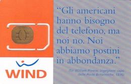 ITALIA GSM WIND - GSM-Kaarten, Aanvulling & Voorafbetaald