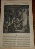 Magasin Pittoresque. Livraison N°50. Mine Près De Falun. Echelle Dans Une Mine. 1849 - Livres, BD, Revues