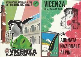 Militari - Patriottiche - Alpini - Vicenza 1991 - 64° Adunata Nazionale - - Patriotic