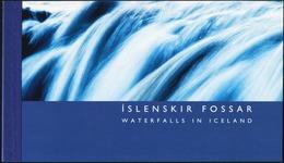 ICELAND 2006 Waterfalls Complete Prestige Booklet Carnet MNH - Geology