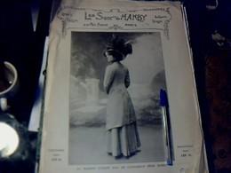 Publicité De Presse 30 X 40 Cm Année 1909 Mode  Manby Vs Mercier Freres - Publicités