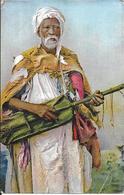 SCENES & TYPES D'AFRIQUE DU NORD - MENDIANT MUSICIEN - - Scènes & Types