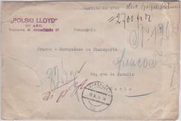 LSC - CHARGE De POLOGNE Pour PARIS , Dans La Période De L'inflation - Lettres & Documents
