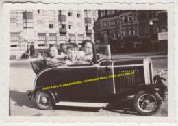 OUDE FOTO BLANKENBERGE / KINDEREN IN GO CART / BILLENKAR / CUISSE TAX - Blankenberge
