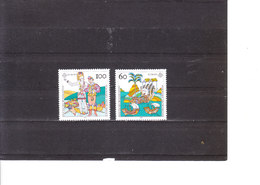 Europa 1992 Allemagne 1436/7 - 500éme Anniversaire De La Découverte De L'Amérique Par Christophe Colomb - 1992