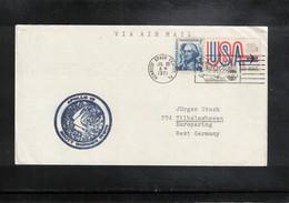 USA 1971 Space / Raumfahrt Apollo 15 Interesting Cover - Briefe U. Dokumente