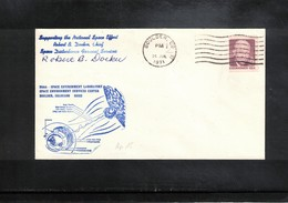 USA 1971 Space / Raumfahrt Apollo 15 Interesting Signed Cover - Briefe U. Dokumente