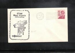 USA 1971 Space / Raumfahrt Apollo 15 Earth Tracking Station Interesting Cover - Briefe U. Dokumente