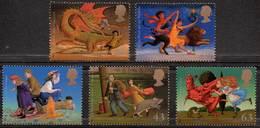 GREAT BRITAIN 1998 Famous Children's Fantasy Novels - 1952-.... (Elizabeth II)