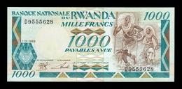 Ruanda Rwanda 1000 Francs 1988 Pick 21 SC UNC - Ruanda-Urundi