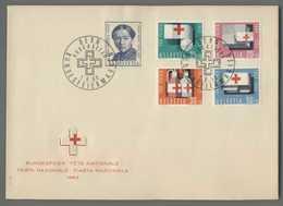 C5076 HELVETIA FDC 1963 PRO PATRIA BUNDESFEIER FETE NATIONALE 5 VALORI - FDC
