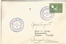 SUECIA 1951 IVARSBJORKE SCOUT - Padvinderij