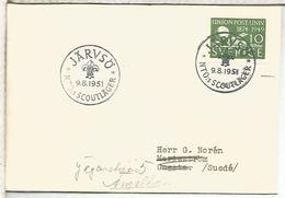 SUECIA 1951 JARVSO SCOUT - Padvinderij