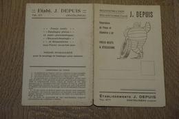 Michelin Debut 1900 Publi Pneus Michelin Societe Depuis Chatelineau - Publicité