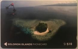 SALOMON  - Phoncard  - Cable § Wireless - Solomon Telecom - SI$10 - Isole Salomon