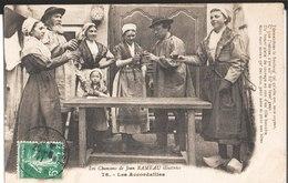 Les Chansons De Jean Rameau Illustrées. 78. Les Accordailles. De H. Millière à Mme Et Melle Gourdet à Paris 3°. 1911. - Musique