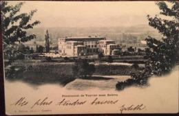 Cpa, Pensionnat De Veyrier Sous Salève, éd A.Detraz, Genève, écrite En 1905 - Veyrier