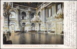 AK Schwerin Goldener Saal Im Grossherzgl. Schloss, Gelaufen 1901 - Schwerin