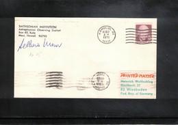 USA 1971 Space / Raumfahrt Apollo 15 Tracking Station Interesting Signed Cover - Briefe U. Dokumente