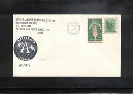 USA 1971 Space / Raumfahrt Apollo 15 Tracking Station Interesting Cover - Briefe U. Dokumente